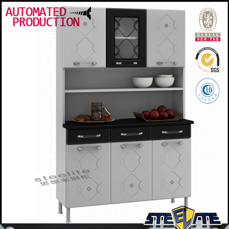 white hinges swing casement door metal kitchen cabinets sale