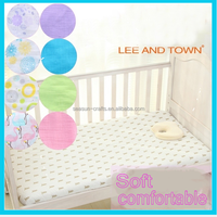OEM hot sales 100% Cotton Muslin baby crib sheet fitted crib baby seet