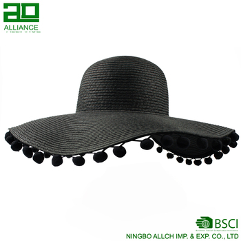 New Design Wholesale Sun Women Straw Hat for Sale