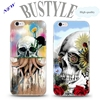 Wholesale the Best Selling Horror Skull Custom Design Cell Phone Cover Case For Apple iPhone 5 5s 6 plus