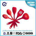 High Quality Non-stick Surface Silicone Kitchen Tools/Kitchen Utensils
