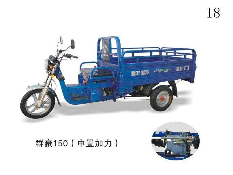 three wheel large cargo motorcycles/cargo motor tricycle/motorized rickshaw
