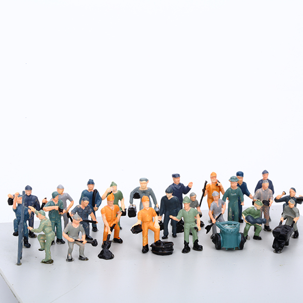 1:25~1:200 ABS architectural scale model figures