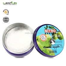 OEM/ODM natural fruit fragrance alcohol free water based hair wax ingredients 100g