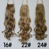 stock!!! 17 colors curly synthetic ponytail hair extension wrap around