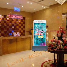 Cellphone mobile advertising led screen/P3 led sign xxx moves / P3 advertising led billboard