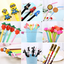 HF0025 top sales promotional creative animal cartoon character pen