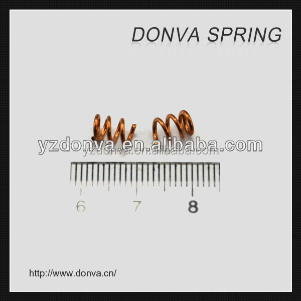 Small Golden Compression Spring Precision Small Compression Spring