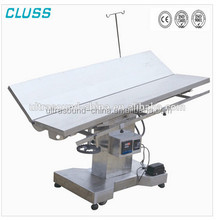CLS-T110P Hot Sale Medical Vet Surgery Table Vet Operating Table CE Approved