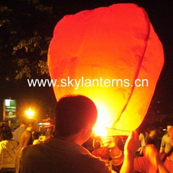 ECO Friendly Sky Lanterns with CE certification