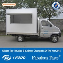 2014 New FT-27 Mobile food trailer/van for sale in philippines/food kiosk