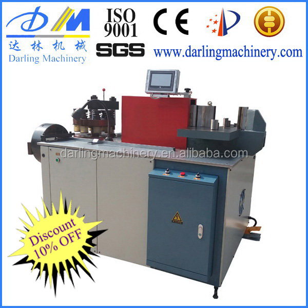 USD5368-5800 manufacture direct selling price CNC hydraulic copper busbar bending punching cutting copper bus bar machine