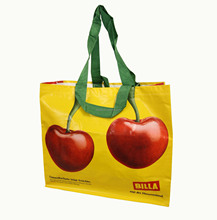 2015 PP woven shopping bag with lovely design