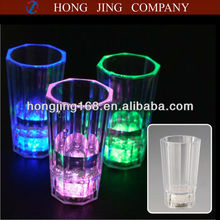 2 Oz Plastic Led shot Glasses,Blinking Liquid Activated Shot Glass