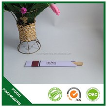 disposable custom printed personalized chopsticks with logo,