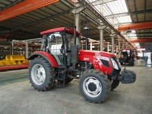 Quality reliable 130 hp four-wheel farm tractors