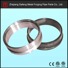 DN125 pipe fittings forged flange welded to the ends of concret pump pipes