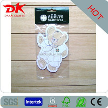 fresh air living new car scent make hanging paper car air freshener