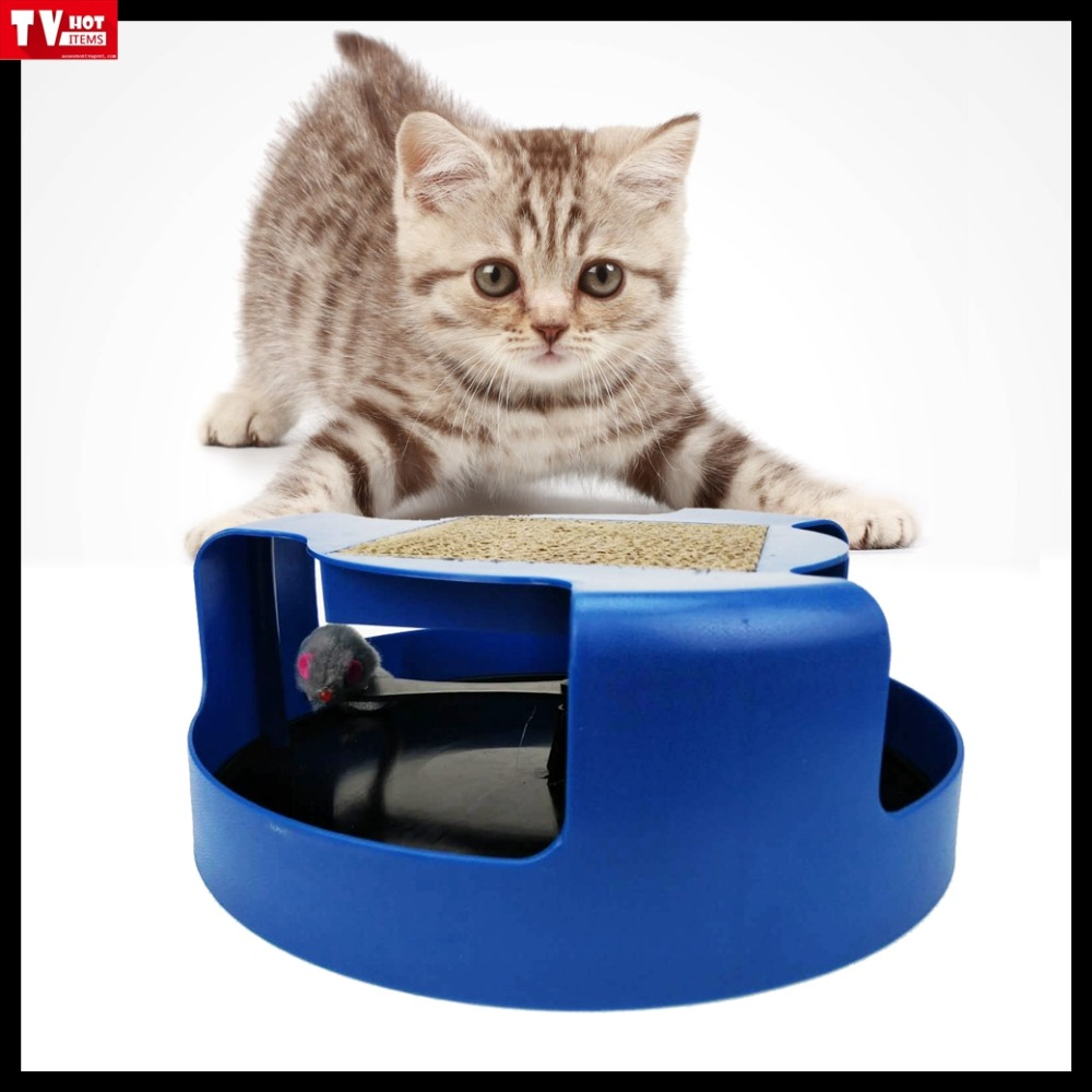 generation 2 Training Exercise motion cat Kitten catch Mouse magic Play toy rotating chase trainer