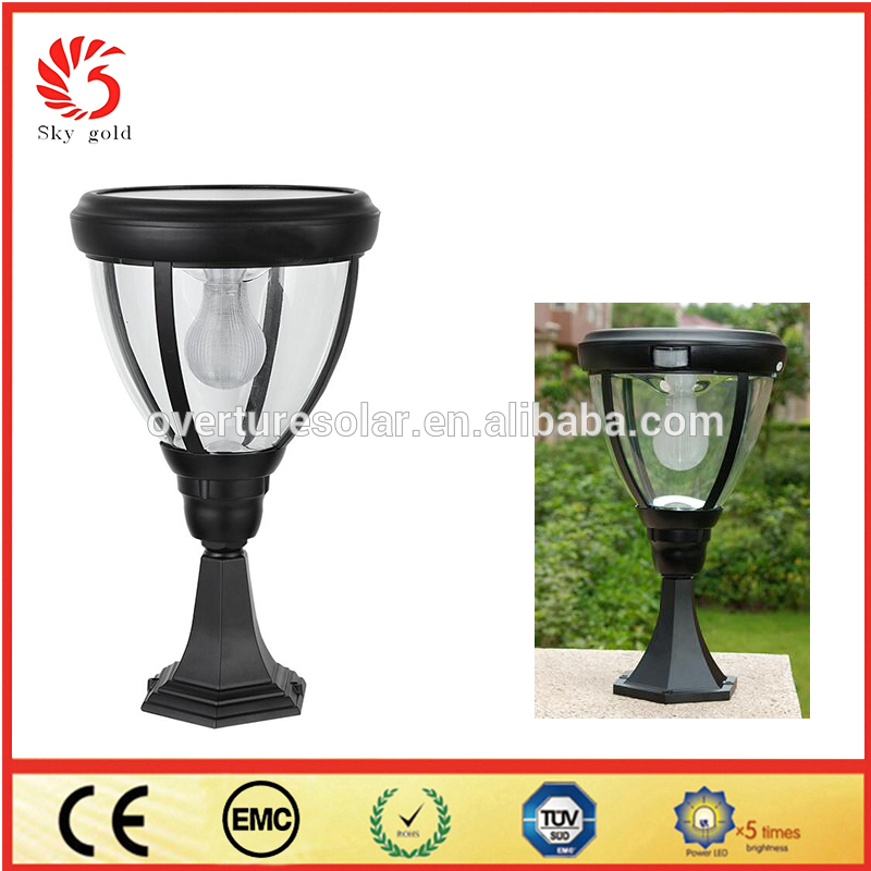 The Best China energy saving garden stone pillar light With Long-term Service