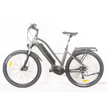 Full suspension mountain style electric bike with bafang max central motor 36V 350W