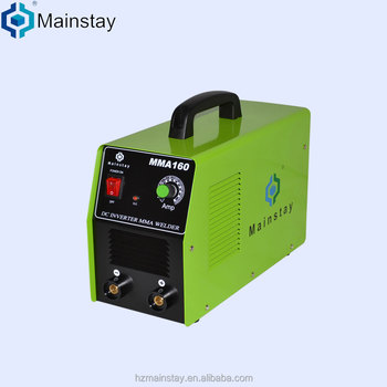 machine or portable dc inverter better welder/welding machine arc/mma 160amps dc electric welding machine
