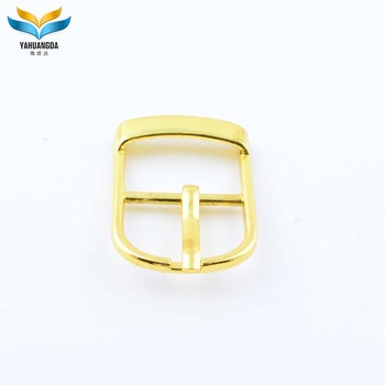 OEM cheap small gold design ladles shoes buckles