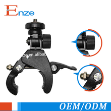 Hot sales rotating flexible camera accessories mount bike clamp for bike camera stand holder