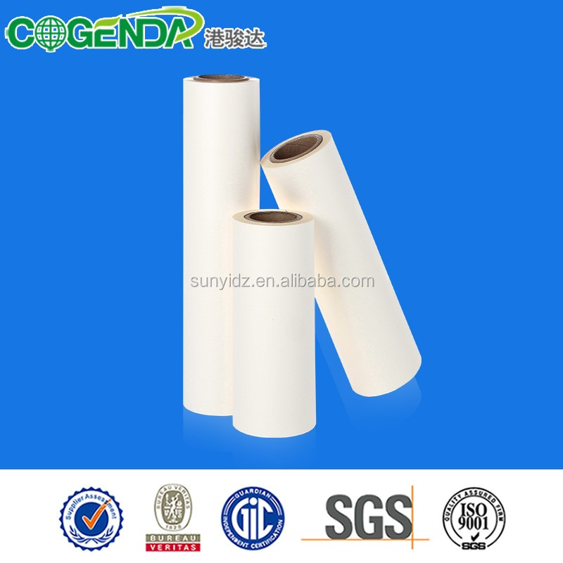 plastic rolls manufacturers scratch resistant film for wedding invitations