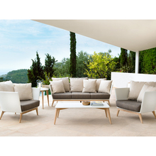 Wholesale Teak wood living room Furniture sofa set use for outdoor and indoor