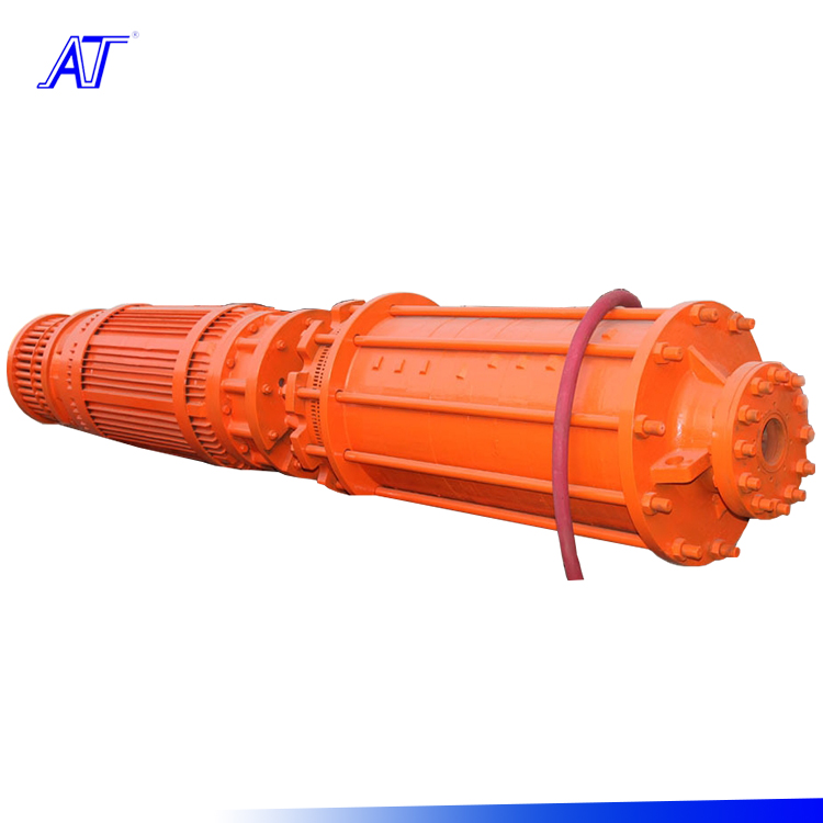 Multistage impeller Large flow clean water submersible pump