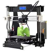 Cheap 3d sublimation printer Reprap Prusa i3 DIY 3D Printer kit for Arduino multicolor personal 3d printer filament 8gb tf card