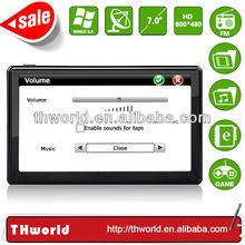 2014 Wholesale Checkout 7 inch cheap handheld gps with 800MHz CPU only $33