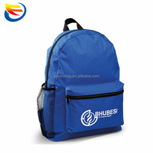 Factory custom 600D cheap school backpack bag with logo