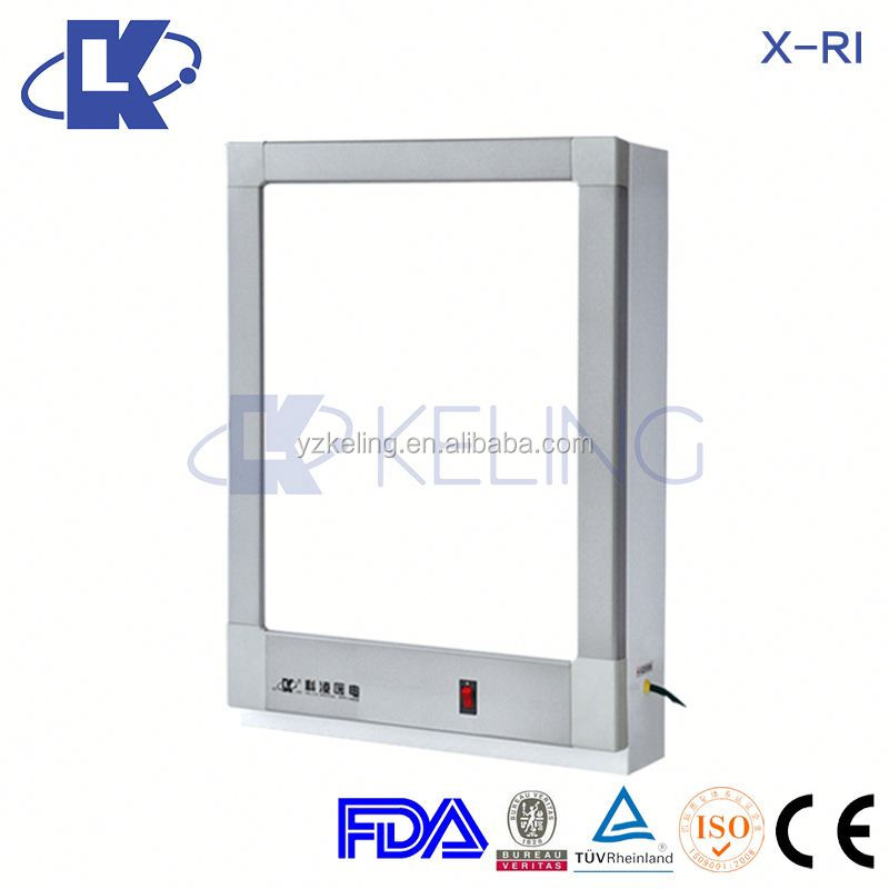 X-RI Aluminium Alloy X Ray Viewing Box LED light colorful industrial X-ray film viewer