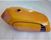 Yellow Color JIALING JH70 CB125 YB125SP Cafe CG125 Gas Petrol Motorcycle Fuel Tank