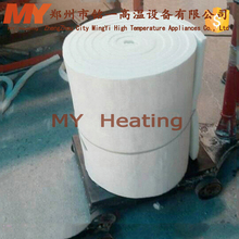 China manufacturer natural high zirconium low thermal conductivity ceramic fiber paper made in
