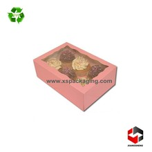 cheap luxury custom printed box cupcake