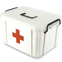 emergency first aid kit,medical plastic tool box