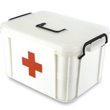 medical plastic tool box,emergency first aid kit