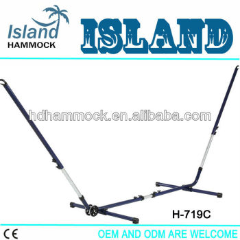 Adjustable hammock stand with wheel,hammock metal frame