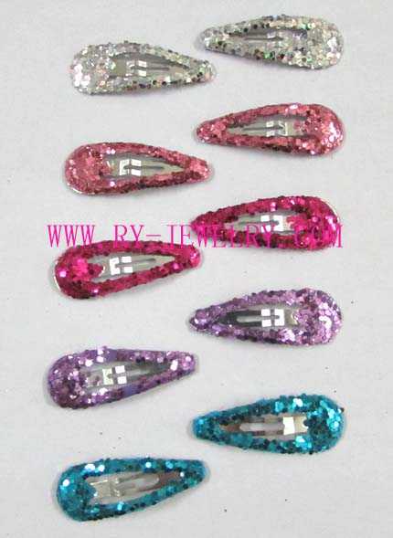 Mini hot sales Baby New Colour Glitter hair clip