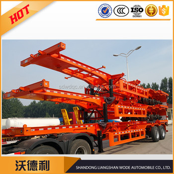 semi trailer manufacturer container skeleton semi trailer sales