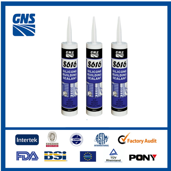 aquarium structural acid silicone sealant white