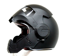 High Quality Glass Fiber Reinforced Plastics Open Face Motorcycle Helmet