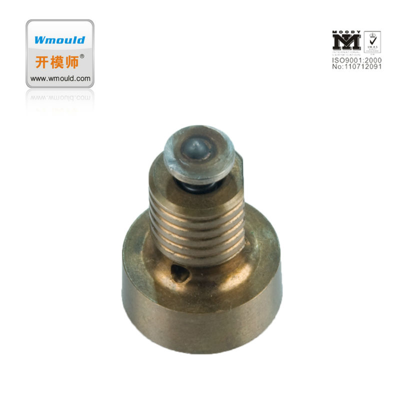 Global plastic mould part air poppet valves mainland mould component