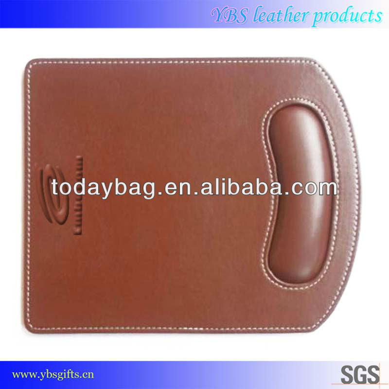 adhesive printable leather mouse pad