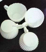 Christmas promotion gift silicone cake mould cookie cup / silicone chocolate cup mould / DIY cupcake