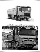 Shacman dump truck and mercedes actros tipper for sale
