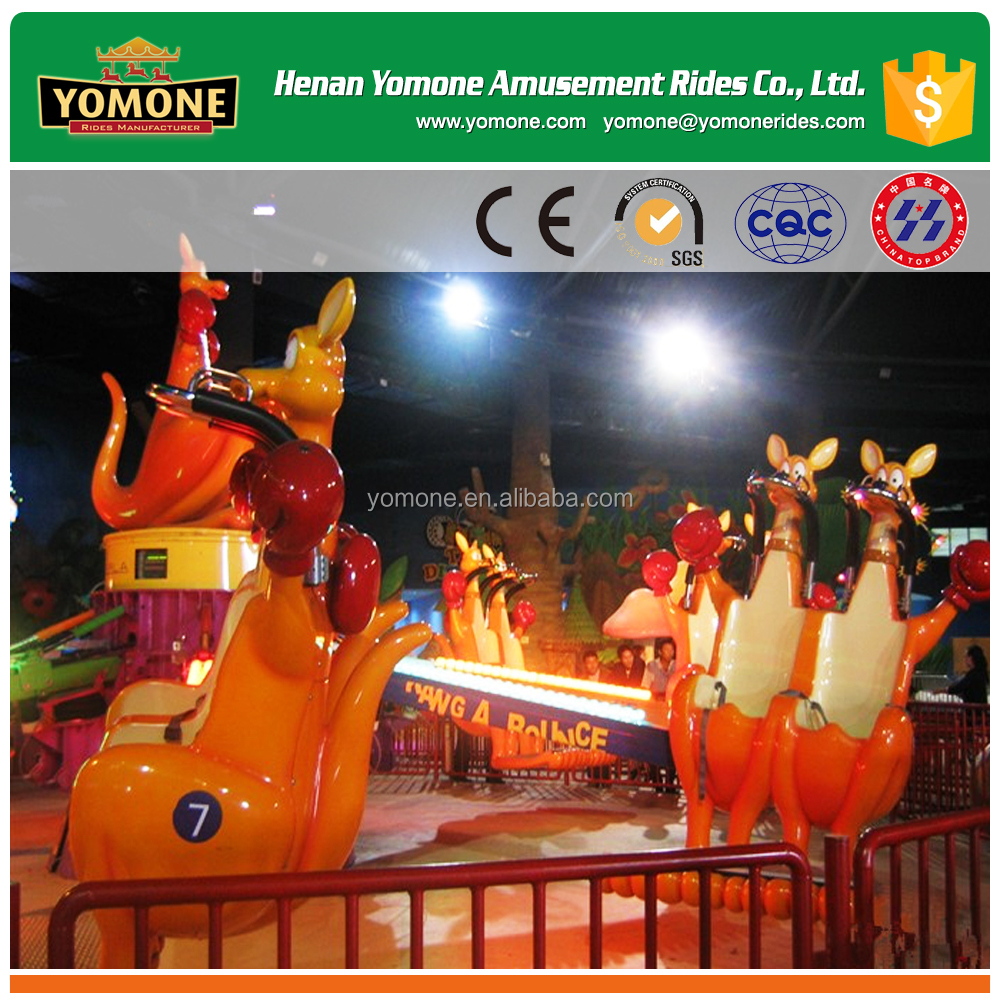Fun Animal Type of Amusement Park Games Kangaroo Jumps for Sale